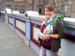 Frau Fuchte an der Edinburgh School of English  (2017/2018, Edinburgh/Schottland)