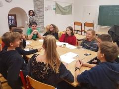 Gruppenarbeit mit Jugendlichen (2019/2020 Graz/Österreich)