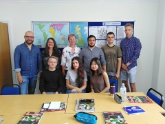 Frau Solbrig beim General English Course am English Language Centre (2018/2019, Brighton/England)