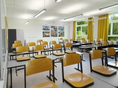 Klassenraum im Scharnhorstgymnasium