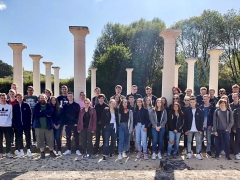 Ausflug zur altrömischen Villa Rustica in Echternach