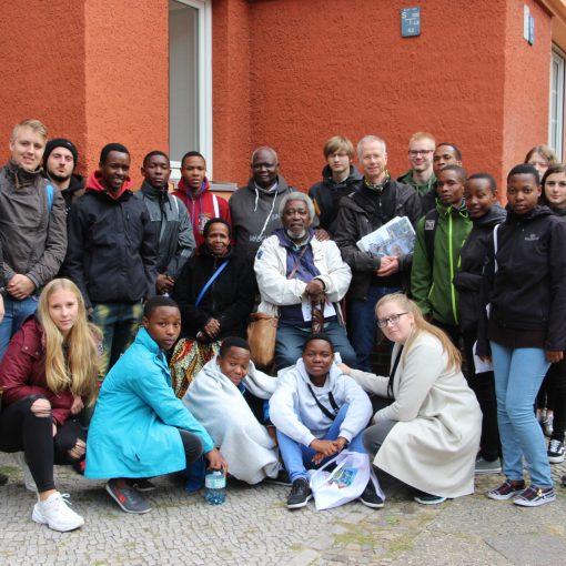 Berlinfahrt mit den afrikanischen Gästen