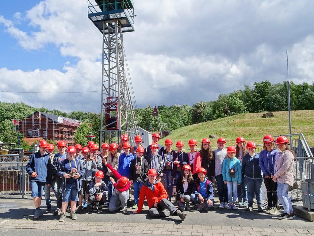 Besuch des Bergwerks Barsinghausen