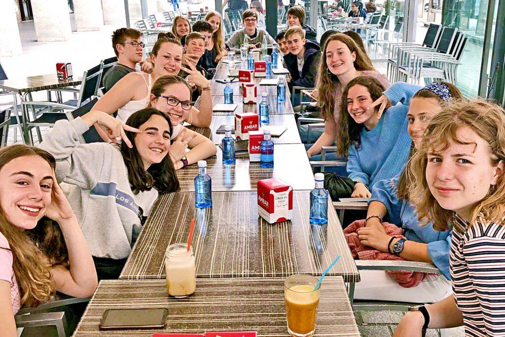 Restaurantbesuch in Logroño